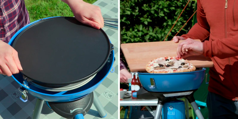 Review of Campingaz Party 400 All in One portable Camping BBQ