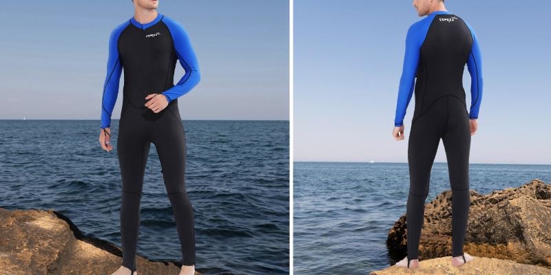 Review of COPOZZ Full Length Thin Wetsuit
