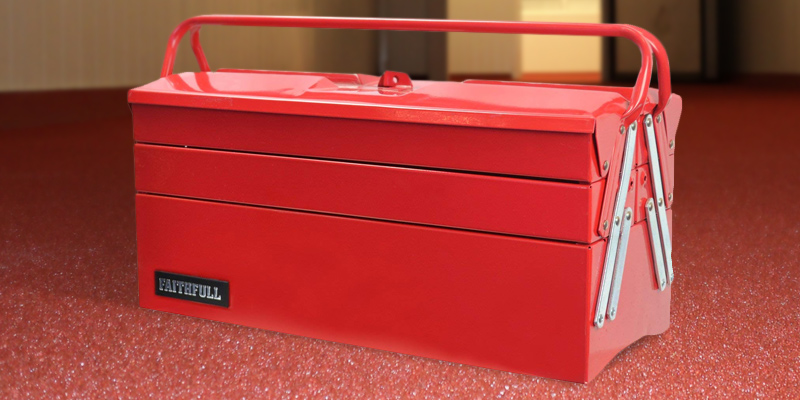 Review of Faithfull TBC517 Metal Cantilever Tool Box, 17 inch