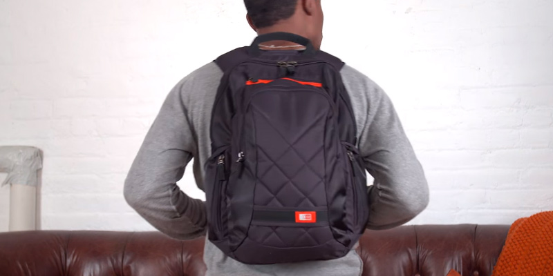 Case Logic DLBP-114BLACK Laptop Backpack in the use