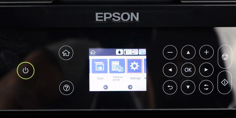 Epson XP-4100 All-in-One Printer Printer in the use