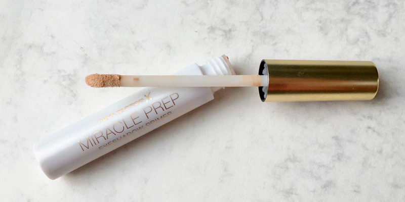 Review of Max Factor Miracle Prep Eyeshadow Primer