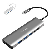 Lenovo C112 USB C Hub with SD/TF Card Reader and 4K HDMI Port