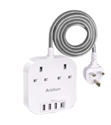 Addtam PS-UKW23C Extension Cord