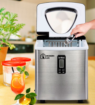 Review of Modern Life AP0055-57 Compact Ice Maker Machine