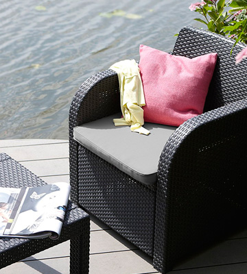 Review of Keter Atlanta Rattan Garden Furniture Set