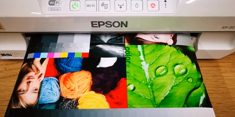 Epson XP-55 in the use