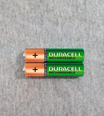 Review of Duracell DC2400 AAA Rechargeable Batteries