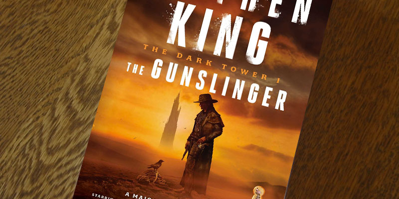 "Stephen King ""The Dark Tower I: The Gunslinger"" in the use"