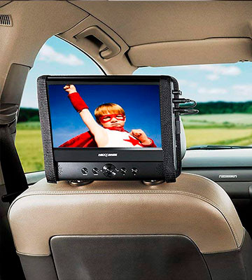 Review of Nextbase NB49AM / SDV49AM 9-inch Portable Car DVD Player