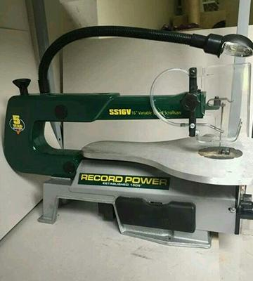 Review of Record Power SS16V Scroll Saw