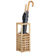 Maribelle MA38 Small Square Wooden Umbrella/Walking Stick Storage