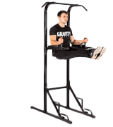 Gravity Fitness GFPT12 Power Tower Pull Up Rack & Dip Station