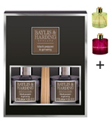 Baylis & Harding Black Pepper & Ginseng Reed Diffuser Duo