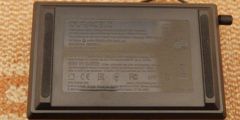Detailed review of Duracell CEF15UK 5 minutes Battery Charger