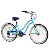KCP Light Blue Retro Look Cruiser bikes