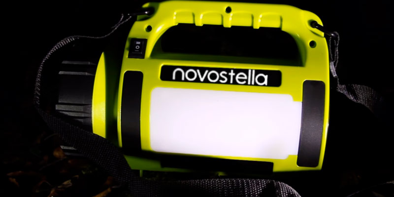 NOVOSTELLA Ustellar Rechargeable CREE LED Torch Multi-functional Camping LED Light (650 Lumens) in the use