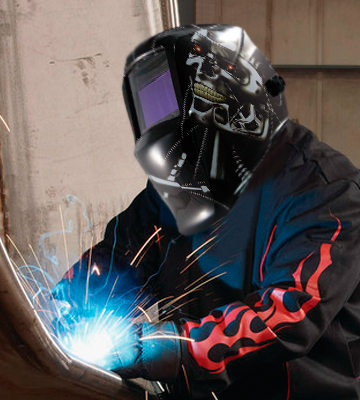 Review of Expert Weld XWH11 XW Cyborg Elite Auto Darkening Welding Helmet