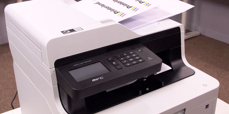 Brother MFC-L3750CDW Wireless Multifunction Colour Laser Printer in the use