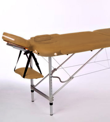 Review of Linxor Light Brown Folding Massage Table