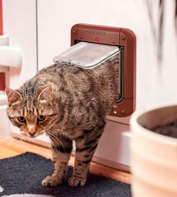 Review of Cat Mate 110413 Microchip Cat Flap
