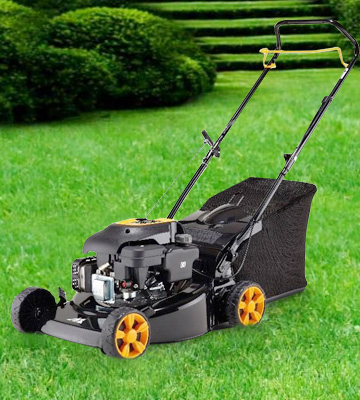 Review of McCulloch M40-110 Petrol Lawnmower