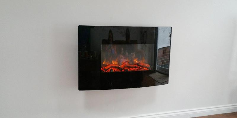 Endeavour Fires and Fireplaces Egton Wall Mounted Electric Fire in the use