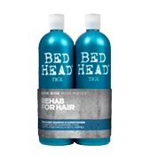 TIGI Bed Head rehab for hair Urban Antidotes Recovery Moisture Shampoo and Conditioner