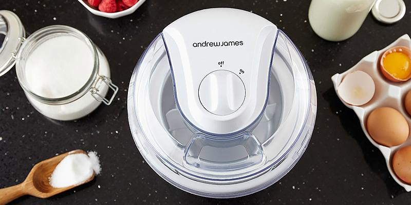 Review of Andrew James AJ000014 Ice Cream Maker, 1.5 Litre