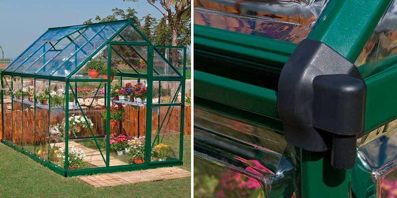 Review of Palram Harmony 6x10 ft Greenhouse