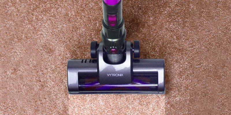 VYTRONIX BCS01 Cordless Upright Handheld Vacuum Cleaner in the use