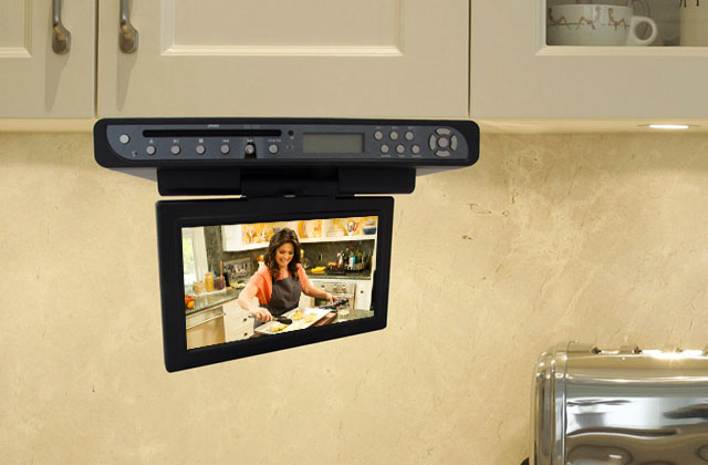 Best Kitchen & Bathroom TVs to Keep You Entertained