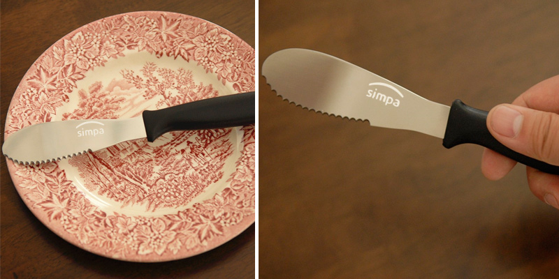 Review of Simpa Butter Spreader Knife Blade Stainless Steel