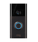 Ring HD Video Doorbell with Alexa (Motion Detection, Two-Way Talk)