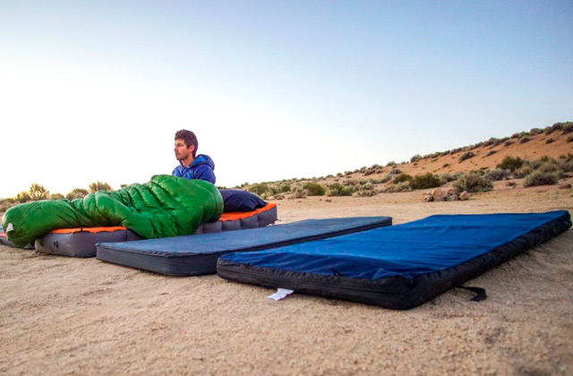 Comparison of Camping Mattresses