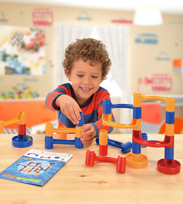 Review of Galt Toys, Inc. A0555K Marble Run