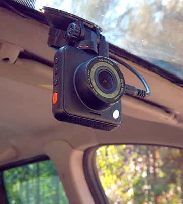 Review of Apeman C420D 1080P Dual Lens Dash Cam with Night Vision
