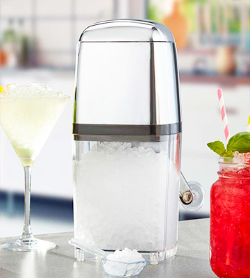 Review of BarCraft Ice Crusher Machine Retro Style Manual
