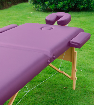 Review of HomCom Purple Massage Table