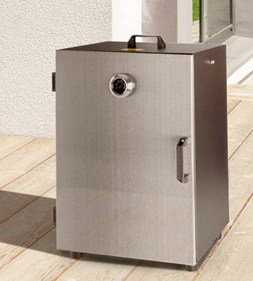 Review of Klarstein GQM2-Flintstone Steel Smoker Oven with 3 Smoker Trays