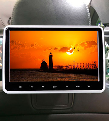 Review of WZMIRAI wz-DVD2 10.1-Inch Car Portable DVD Player
