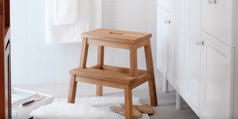 Review of IKEA BEKVAM Wooden Utility Step
