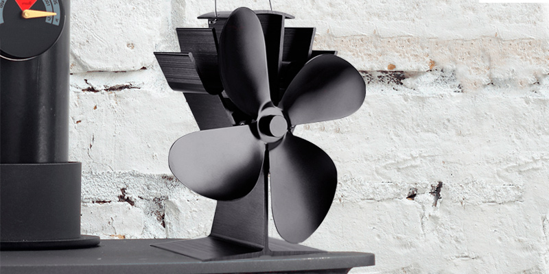 Review of LUMAMU 4-Blade Stove Fan Upgrade Silent Operation