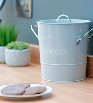 Review of The Caddy Company Kitchen Compost Caddy Composting Bin for Food Waste Recycling