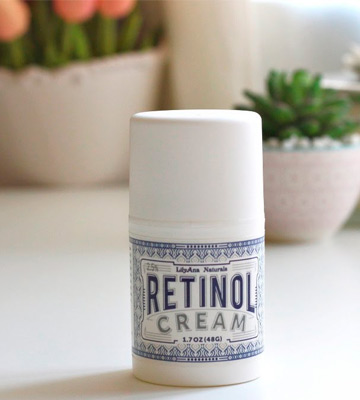 Review of LilyAna Naturals Retinol Cream Moisturizer for Face and Eyes, Use Day and Night
