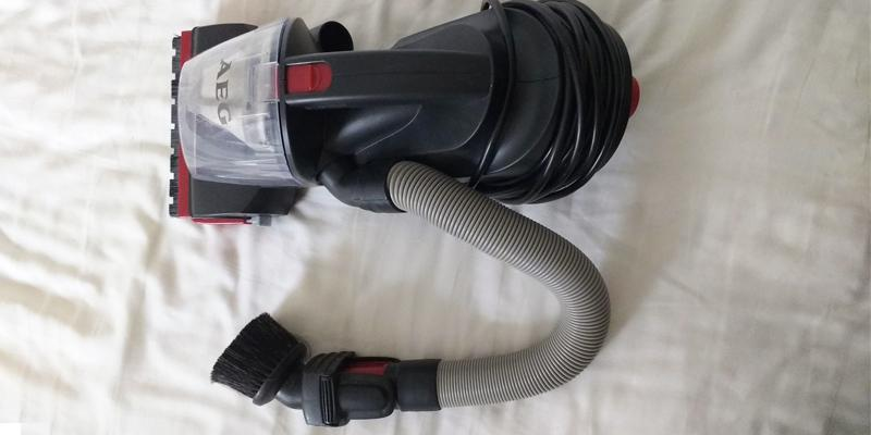 AEG RapidClean Stair and Car Handheld Vacuum Cleaner in the use