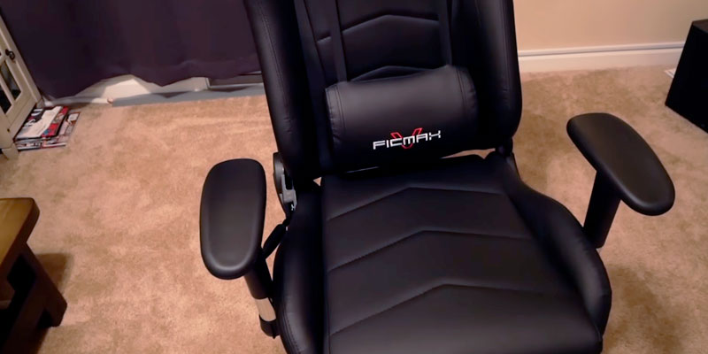 Ficmax Gaming Massage Chair in the use