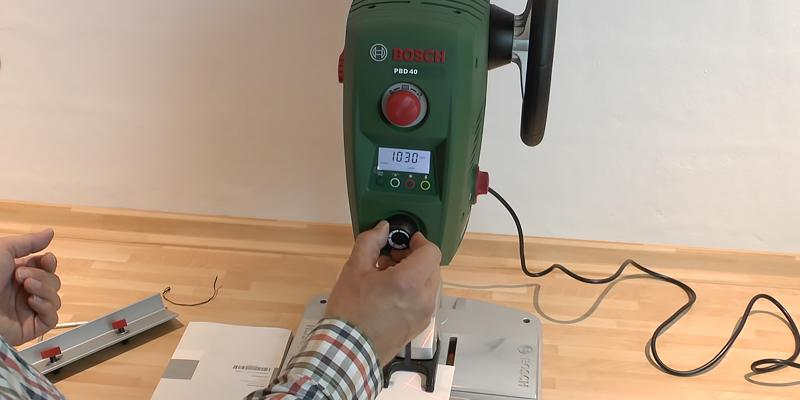 Detailed review of Bosch PBD 40 Bench Drill Press