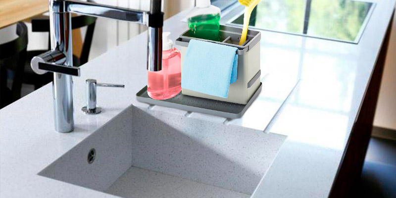 Review of Metaltex 29.75.30 Plastic Tidy-Tex Kitchen Sink Cleaning/Washing Up Organiser