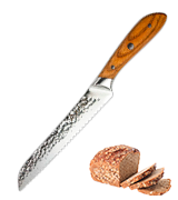 "Rockingham Forge Ashwood Series 8"" Bread Knife"